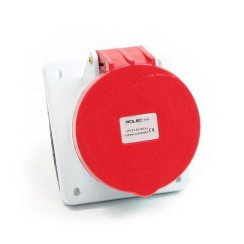 CEE inbouwcontactdoos schuin 63amp 5pol 400V IP44
