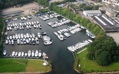 Yachthafen WSV Vijfsluizen in Zwartewaal